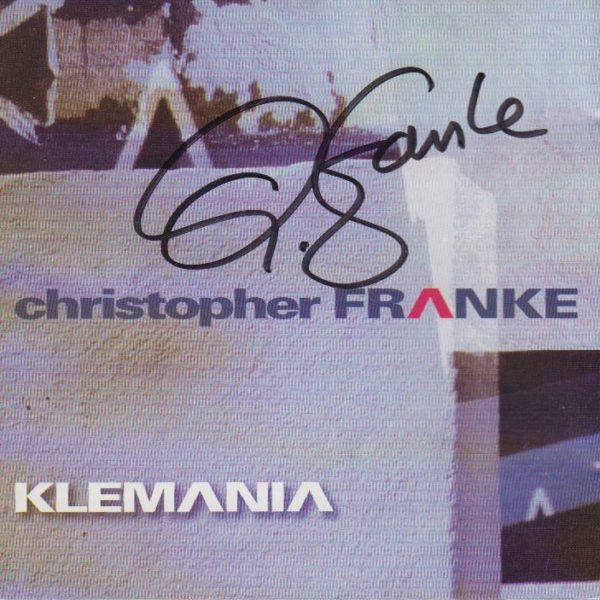 Chris Franke Klemania Signed