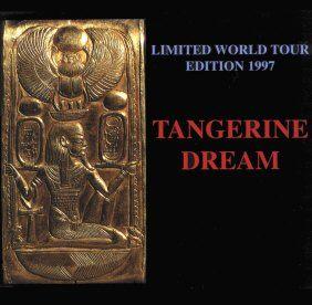 Tangerine Dream Ltd Ed World Tour 1997