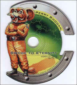 Chris Franke / Pax Terra / Bridge Of Eternity (Shaped CD) Artwork in Mint Condition, Disc Excellent