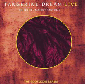 Tangerine Dream Detroit March 31st 1977
