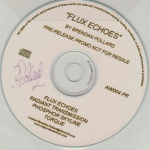 Flux Echoes Promo Signed