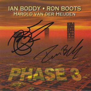 Ian Boddy & Ron Boots Phase 3 Signed