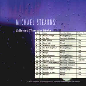 Michael Stearns Collected Thematic Works 1977 87
