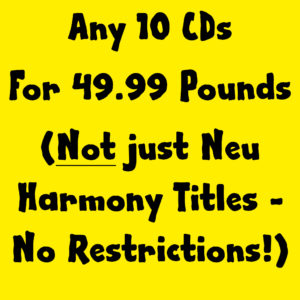 Any 10 CDs for 49.99